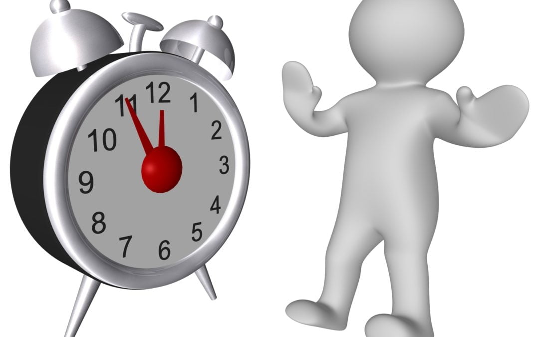 Where you might be going wrong with time management