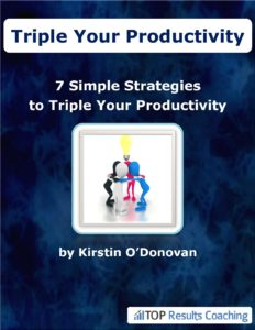 7 Simple Strategies to Triple your Productivity